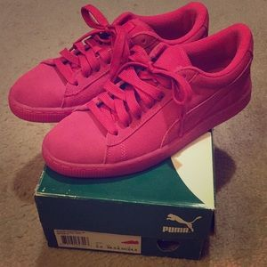 Pink Puma Sneakers